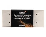 Mustang smoke aroma box for gas grill