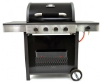 "4 burner gas BBQ with side burner ""Sydney"""