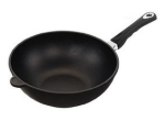 AMT Wok, Ø28cm, 11cm edge height, Induction