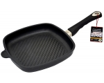 AMT square pan shallow 26x 26cm,  grill surface, 4cm edge height