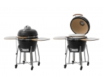 "Mustang Kamado grill 18 "". Supplied assembled."