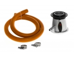 Mustang LPG regulator set w/ rubber hose