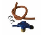 Small gas cylinder regulator set